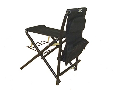 Fishing Chair with 3 Fishing Rods Holder (Free Chair Organizer and bucket) - Fishing Chair