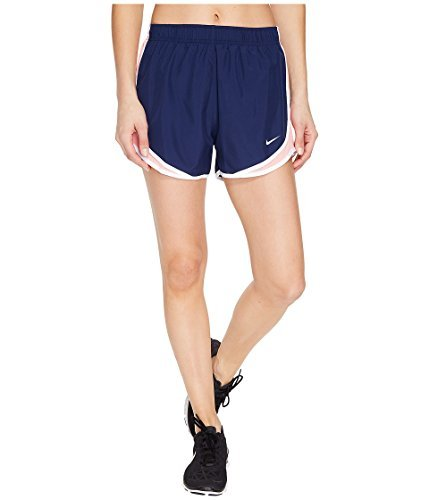 Nike Women's 3'' Dry Tempo Running Shorts (Binar Bl/Bright Mel/Wh/Wg, Medium) from NIKE