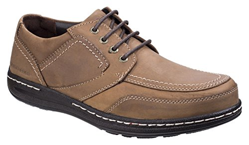 Uomo Stringate Hush Scarpe Volley Derby Puppies Brown Victory wZqzBxOp