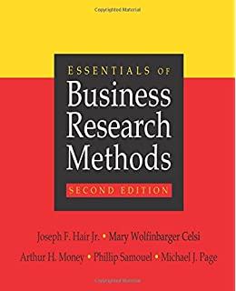 the essentials of business research methods joe f hair jr mary