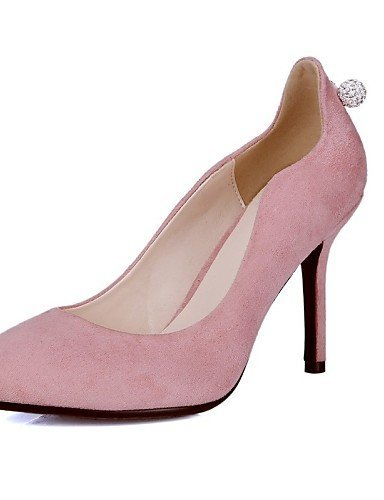 Dress amp; Pink Shoes Heels Party Black Heels Pointed Heel ShangYi Pink Stiletto Wedding Evening Toe Women's Leatherette OgF4wxqPnT