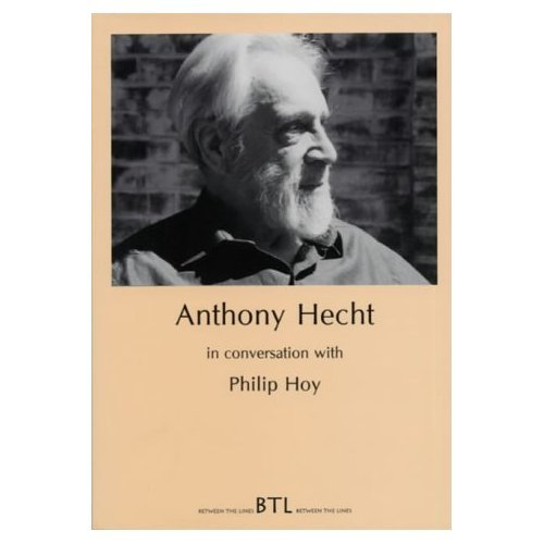 Read Online Anthony Hecht in Conversation with Philip Hoy (Between the Lines) pdf epub