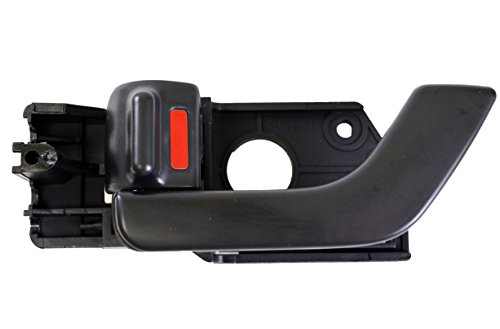 PT Auto Warehouse HY-2508A-FL - Inside Interior Inner Door Handle, Black - (Black Hy Part)