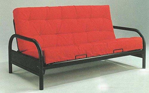 AFO #4561 Black Metal Futon Sofa Bed by ADI