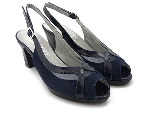 Blue iab3111 Cm Cinzia Stylish And Summer Plateau Sandal 1 Heels Cm Soft 7 xnUqw7nTFP