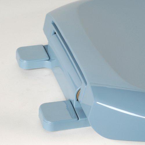 best Comfort Seats C1606S45 Premium Ez Close Plastic Round Closed Front with Cover