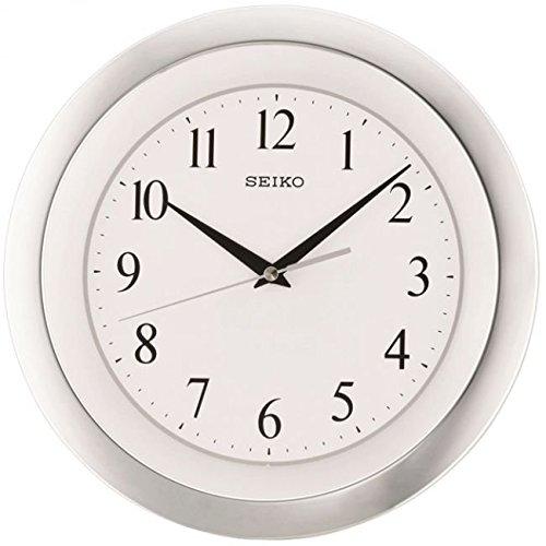 Seiko Wall Clock (28 cm x 28 cm x 3.5 cm, Silver, QXA635SN)