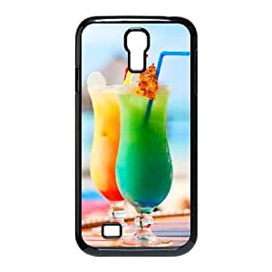 Samsung Galaxy S4 9500 Cell Phone Case Covers Black Desktop Cocktail