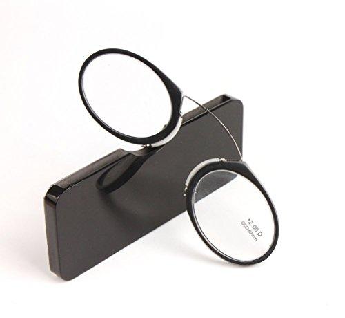 23666ade09f3 ... Go Everywhere SOS Pince Nez Style Nose Resting Pinching Reading Glasses.  By SOOLALA    . 7.4. rating. Amomoma Portable Emergency Everywhere Universal