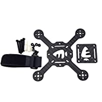 Usmile 118mm Carbon Fiber Quadcopter Frame Kit for FPV racing