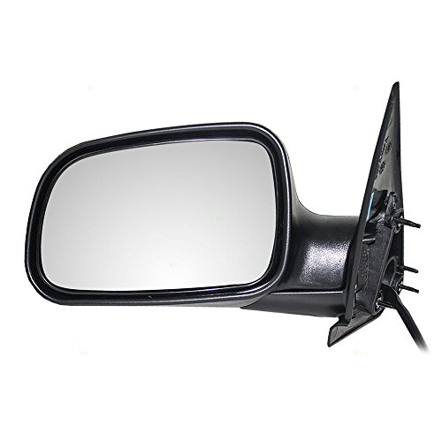 Drivers Power Side View Mirror Textured Replacement for Jeep SUV 55155447AF AutoAndArt
