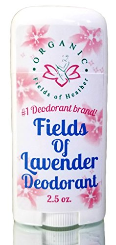 Bahama Heather (Organic Deodorant | FIELDS OF LAVENDER SCENT | Healthy Botanically Infused Ingredients | 2.5 oz)