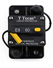 T Tocas Boat DC 48V Circuit Breakers Switch
