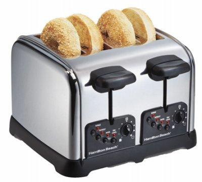 Hamilton Beach 24790 4 Slice Chrome Toaster