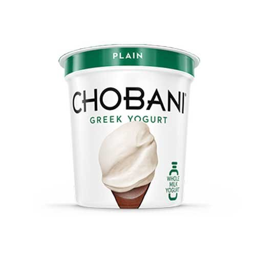 chobani yogurt plain - 3