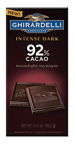 - Ghirardelli Moonlight Mystique 92% Intense Dark Bar, 3.17 Ounce (Pack of 12)