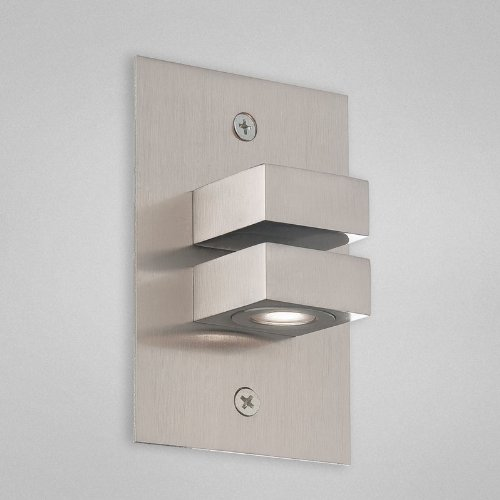 Eurofase 22531 In-Wall Light with 2W LED, Satin Nickel