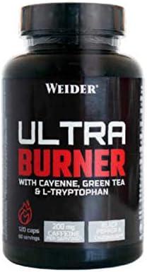 Weider Ultra Burner - 120 caps.: Amazon.es: Alimentación y ...