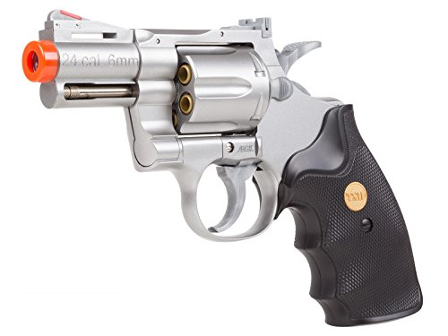 uhc 939 2.5 inch barrel revolver, silver/black airsoft gun(Airsoft Gun) by UHC