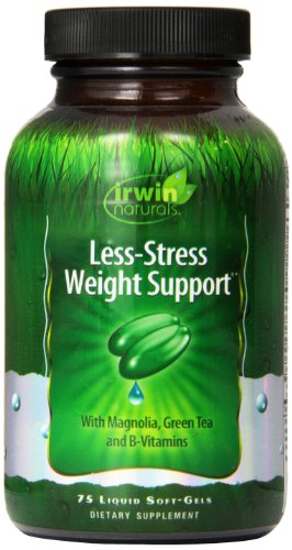 Irwin Naturals, Less-Stress Weight Support, 75 Count