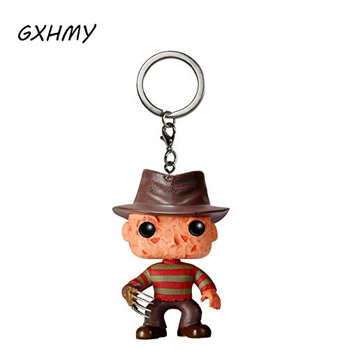 Panamat Action & Toy Figures - Nightmare on Elm Street Freddy Krueger Freddy's Nightmares Vinyl Action Figures Children Toy Keychain with Retail Box 1 PCs -