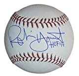 Robin Yount Autographed/Signed Milwaukee Brewers OML Baseball HOF JSA