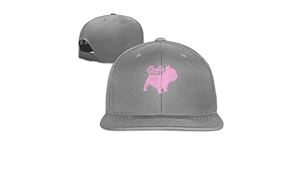 2e57d6781a08f Amazon.com  Melvin L Frenchie Mom Dog Retro falt Hat Adjustable  Clothing
