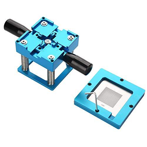 BGA Reballing Station,Reball Stencil Solder BGA Reballing Station Solder Rework Kit Soldering Station+Stencils+Balls Kit