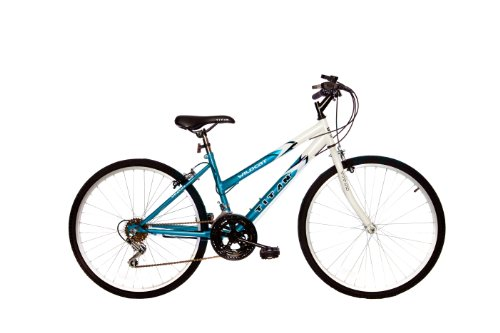 Titan Wildcat 12-Speed Women's Mountain Bike Blue/White