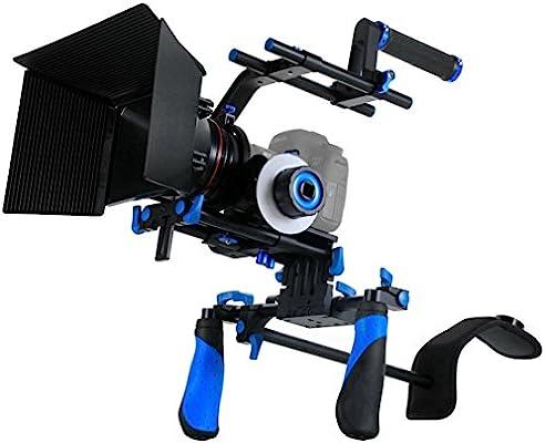 Morros Rig DSLR Kit Movie Shoulder Mount Rig + sigue el foco + ...