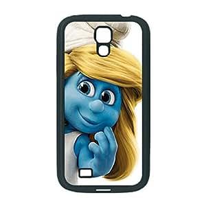 Black Tpu Case, The Smurfs Smurfette Custom Diy Unique Image Durable Rubber Silicone Case for Samsung Galaxy S4 i9500