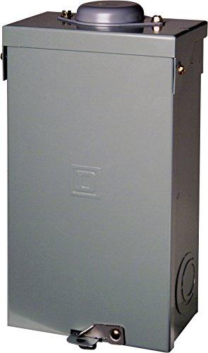 Square D by Schneider Electric QO2100BNRB QO 100 Amp Two-Pole Outdoor Enclosed Circuit Breaker, - 100a Qo Enclosure