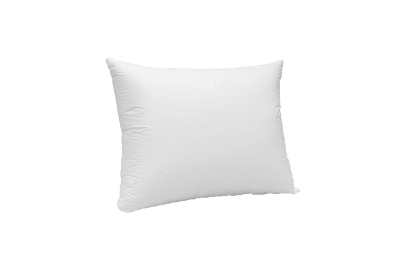 Pillows & Fibers 50/50'' Feather Insert Bed Pillow, 22'' x 22''