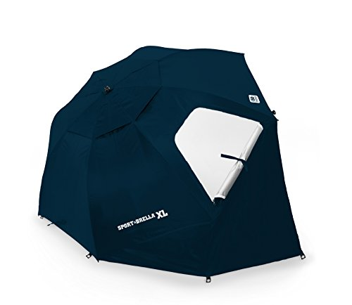Sport-Brella Portable Sun and Weather Shelter, Midnight Blue, X-Large by Sport-Brella