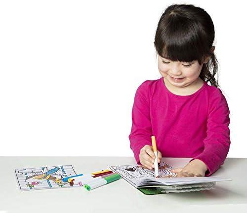 Melissa & Doug Patrón Mágico de Mascotas Bloc para Colorear con marcadores, para Actividades de Viaje de niños Activity Book 4