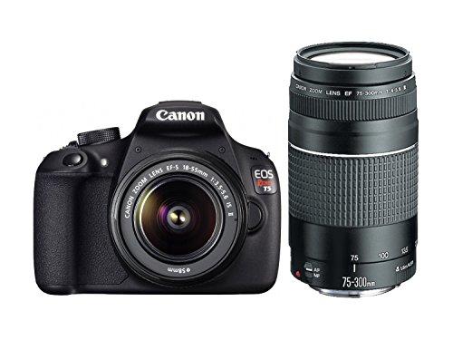 Canon Rebel 18 55mm 75 300mm Lenses