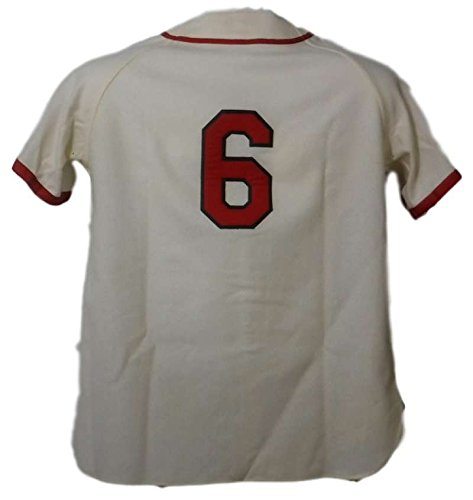 new concept d5b6b 1b138 Stan Musial Signed St Louis Cardinals Mitchell & Ness ...