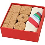 Popular ''cork building blocks mix'' in the baby gift