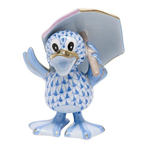 Herend Ducks Just Ducky Blue (Herend Duck)