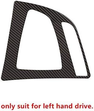 SBCX Auto Mittelkonsole Dekoration Aufkleber Für BMW 3er F30 2013-17, Auto Styling Konsole Armlehne Schalttafel Abdeckung Trim Carbon Faser Farbe Innenzubehör