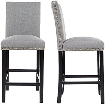 Amazon Com Great Deal Furniture Westman Swivel Bar Stools