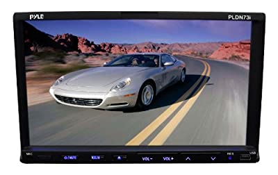 Pyle 7-Inch Double DIN TFT Touch Screen DVD/VCD/CD/MP3/MP4/CD-R/USB/SD-MMC Card Slot/AM/FM/iPod Connector | Popular Toys