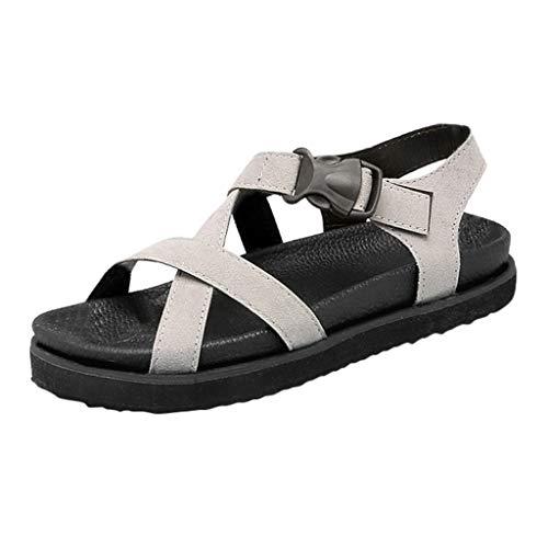 ff7f1e326 {Minikoad}Women Flat Bottom Beach Sandals,Ladies Sports Leisure Summer  Fashion Shoes (