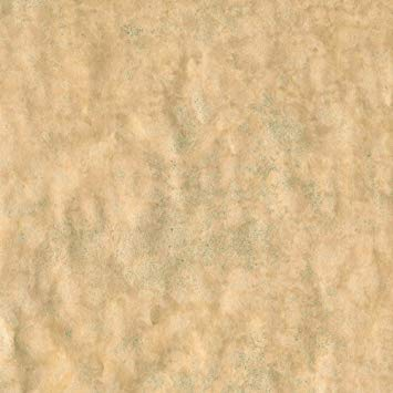 Entertaining with Caspari 9695RC Antique Gold Leaf Foil Continuous Roll of Gift Wrapping Paper, 8', 1-Roll, ()