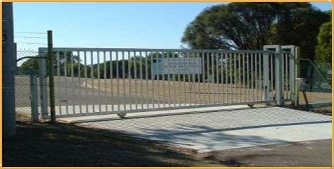 ALEKO VTRACK18FT 18 Feet Galvanized Gate V Track in Three 6 Foot Sections for Sliding Rolling Chain Rack Driveway Gate by ALEKO (Image #4)