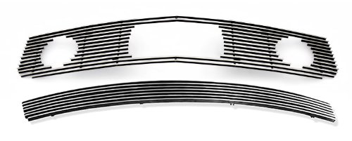 Fits 2005-2009 Ford Mustang V6 Pony Package Billet Grille Grill Insert Combo # F61219A (2008 Mustang Pony Emblem compare prices)