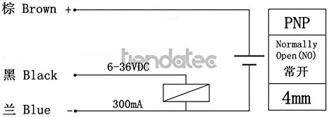 Sensor PROXIMIDAD INDUCTIVO LJ12A3-4-Z/BY PNP NO 4MM: Amazon.es ...