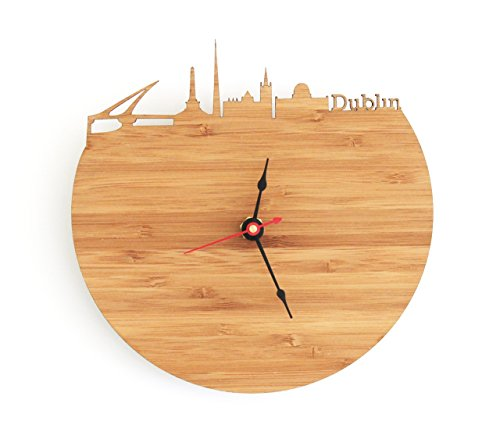 Dublin Skyline Clock (Dublin Walnut)