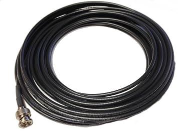 4 ft Negro HD SDI Cable, BNC-BNC Mini Cable Coaxial: Amazon.es: Electrónica