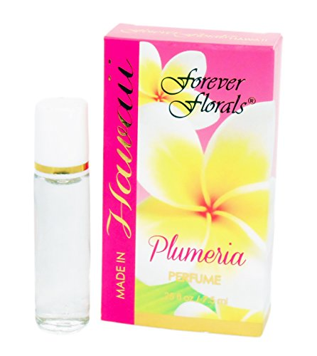 PLUMERIA PERFUME - .25 FL OZ - MADE IN HAWAII - ISLAND BODY
